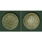 DEUTSCHES REICH 50 Pfennig 1877 A (J.8)  ss-