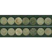Lot: DEUTSCHES REICH  7x 10 Pfennig  s-ss  [1890-1899]
