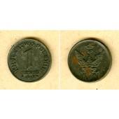 DEUTSCHES REICH Königreich Polen 1 Fenig 1918 F  f.vz