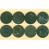 Lot: BELGIEN 4x 25 Centimes  ss+  [1915-1918]