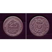 DEUTSCHES REICH 25 Pfennig 1911 G (J.18)  ss