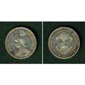 Deutsch Ostafrika 1/4 Rupie 1891  ss+  selten