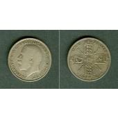 Großbritannien One Florin 1921 s+/ss