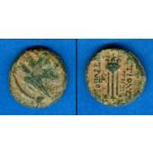 AE17 Bronze Syria Dichalkon  1. Jh. v.Chr.  s-ss/ss