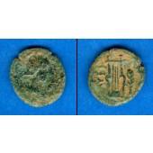 AE16 Bronze Myrina  ge/ss  [117-138]
