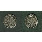 Ungarn Denar 1584 K-B Rudolf II.  ss