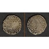 Ungarn Denar 1558 K-B  Ferdinand I.  ss+
