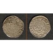 Ungarn Denar 1565 K-B  Maximilian  ss+
