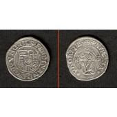 Ungarn Denar 1528 K-B  Ferdinand I.  ss+