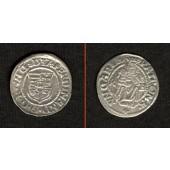 Ungarn Denar 1537 K-B  Ferdinand I.  vz/ss+