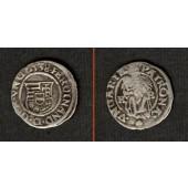 Ungarn Denar 1538 K-B  Ferdinand I.  ss