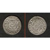 Ungarn Denar 1539 K-B  Ferdinand I.  ss-vz