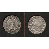 Ungarn Denar 1544 K-B  Ferdinand I.  ss+/ss