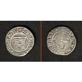 Ungarn Denar 1545 K-B  Ferdinand I.  ss