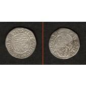 Ungarn Denar 1517 K-G  Ludwig II.  ss