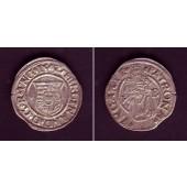 Ungarn Denar 1542 K-B  Ferdinand I.  ss+