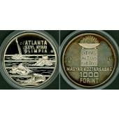 UNGARN 1000 Forint 1994  Olympia Atlanta  SILBER  PP