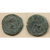 KELTEN  AE29 Bronze  Spanien Castulo 2.Jh.v.Chr.  ss+/ss-  selten!