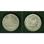 Medaille DEUTSCHES REICH  Bettlermünze (20 Pf.)  ss+