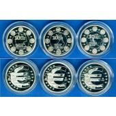 Lot: DEUTSCHLAND 3x Medaille EURO 2012  SILBER  PP