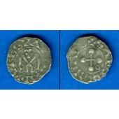 Kreuzfahrer Frankreich Bisthum Valence 1 Denier  ss+  [1157-1276]