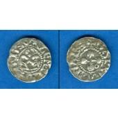 Kreuzfahrer Frankreich Bisthum Valence 1 Denier  ss  [1157-1276]