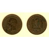 FRANKREICH 1 Centime 1856 W  ss  selten
