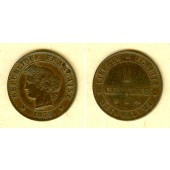 FRANKREICH 1 Centime 1875 A  ss+