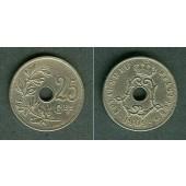 BELGIEN 25 Centimes 1909  ss  seltener