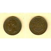 RUMÄNIEN 2 Bani 1900 B  f.st