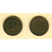 LUXEMBURG 2 1/2 Centimes 1870  ss  selten