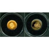 COOK ISLANDS 1 Dollar 2012 GOLD Titanic  PP