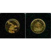 SAMOA 10 Dollars 1995 GOLD Diskuswerfer  PP