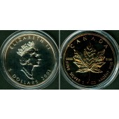 CANADA / KANADA 5 Dollars 2001  SILBER  f.ST