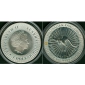 AUSTRALIEN 1 Dollar KANGAROO 2016  SILBER  ST