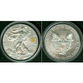 USA One Dollar  EAGLE  2016  SILBER  ST