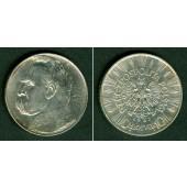 POLEN 10 Zlotych 1937  f.vz
