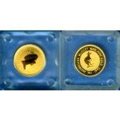 AUSTRALIA / AUSTRALIEN 5 Dollars GOLD  Kangaroo  1993  ST