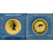 AUSTRALIA / AUSTRALIEN 15 Dollars GOLD  Kangaroo  1995  ST