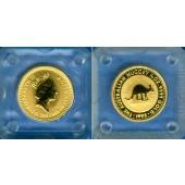 AUSTRALIA / AUSTRALIEN 15 Dollars GOLD  Kangaroo  1992  ST