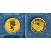 AUSTRALIA / AUSTRALIEN 15 Dollars GOLD  Kangaroo  1990  ST