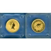 AUSTRALIA / AUSTRALIEN 5 Dollars GOLD  Kangaroo  1995  ST