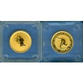 AUSTRALIA / AUSTRALIEN 5 Dollars GOLD  Kangaroo  1997  ST