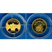LIBERIA 25 Dollars 2005  Pope Benedictus XVI.  GOLD  PP