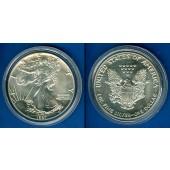 USA One Dollar Silver Eagle 1987  SILBER  fast ST