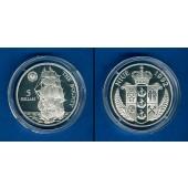 NIUE 5 Dollars 1992  The Bounty  SILBER  PP