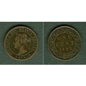 CANADA / KANADA 1 Cent 1892  ss/ss+
