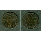CANADA / KANADA 1 Cent 1898 H  ss+