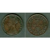 HONG KONG 1 Cent 1876  ss-vz