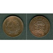 LUXEMBURG 5 Centimes 1854  f.vz